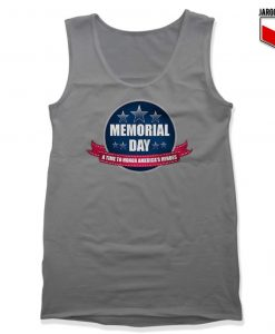 Memorial Day Gray Tank Top 247x300 - Shop Unique Graphic Cool Shirt Designs