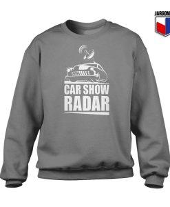 Car Show Radar Sweatshirt