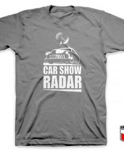 Car Show Radar T Shirt