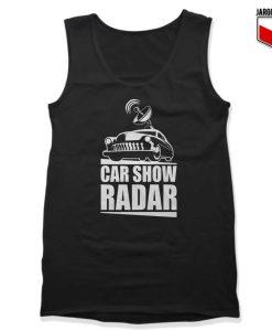 Car Show Radar Tank Top