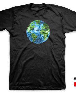 Galactic Disco Ball Planet Earth T Shirt 247x300 - Shop Unique Graphic Cool Shirt Designs