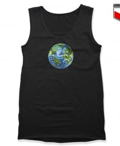 Galactic Disco Ball Planet Earth Tank Top 247x300 - Shop Unique Graphic Cool Shirt Designs