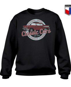 Original Parts Classic Cars Sweatshirt