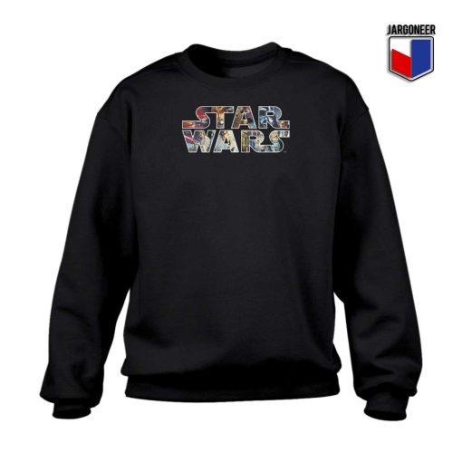 Star Wars Character Logo Sweatshirt