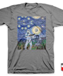 Stormtrooper Starry Night T Shirt