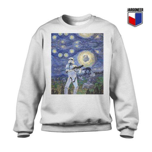 Stormtrooper Starry Night Sweatshirt