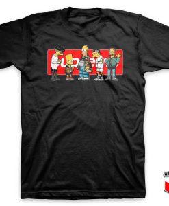 Supreme Cartoon Wallpaper T Shirt