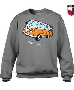Car And Letter Van go Sweatshirt