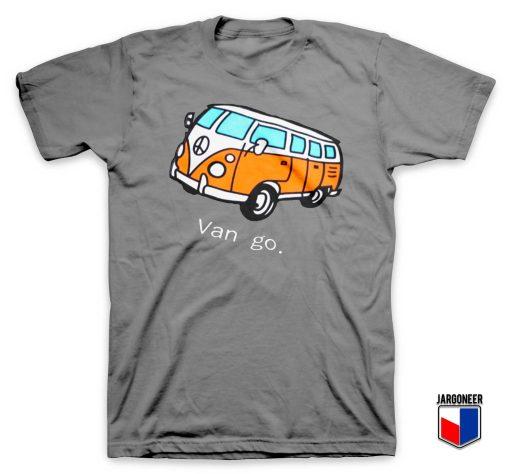 Car And Letter Van go T Shirt