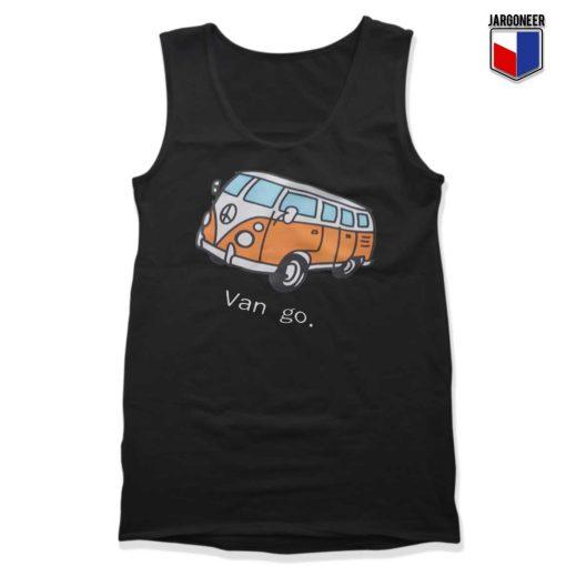 Car And Letter Van go Tank Top
