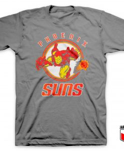 Iron Man Phoenix Suns T Shirt
