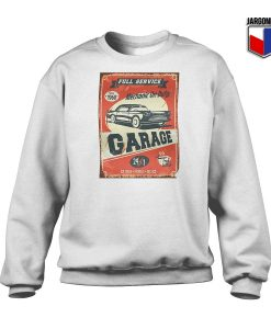 Mechanic On Duty Garage Sweatshirt
