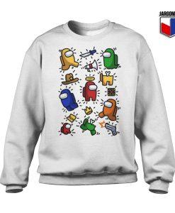 Among Us Funny Dum Sweatshirt