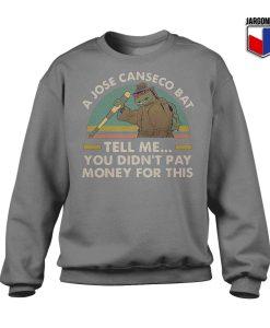 Ninja Turtles A Jose Canseco Bat Sweatshirt
