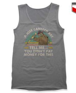 Ninja Turtles A Jose Canseco Bat Gray Tank Top 247x300 - Shop Unique Graphic Cool Shirt Designs