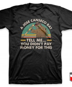 Ninja Turtles A Jose Canseco Bat T Shirt 247x300 - Shop Unique Graphic Cool Shirt Designs
