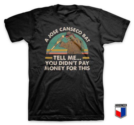 Ninja Turtles A Jose Canseco Bat T Shirt
