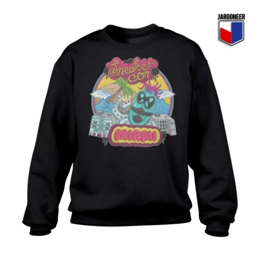 Sneaker Con Miami Sweatshirt