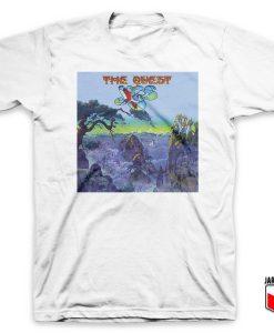 Yes The Quest White T Shirt 247x300 - Shop Unique Graphic Cool Shirt Designs