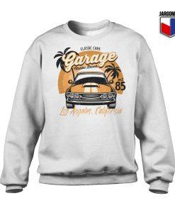 Classic Cars Malibu Beach Sweatshirt 247x300 - Shop Unique Graphic Cool Shirt Designs