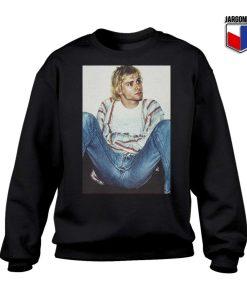 Kurt Cobain Sit Back Vintage Sweatshirt