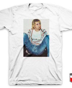 Kurt Cobain Sit Back Vintage T Shirt