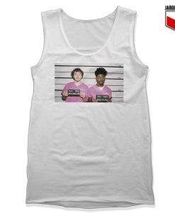 Lil Nas X Ft Jack Harlow White Tank Top 247x300 - Shop Unique Graphic Cool Shirt Designs