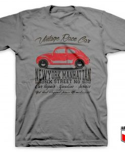 Vintage Race Car Grey T Shirt 247x300 - Shop Unique Graphic Cool Shirt Designs